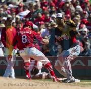 14 Braves Cardinals