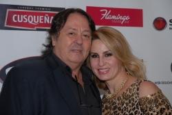 Alejandro Jaén y su esposa.