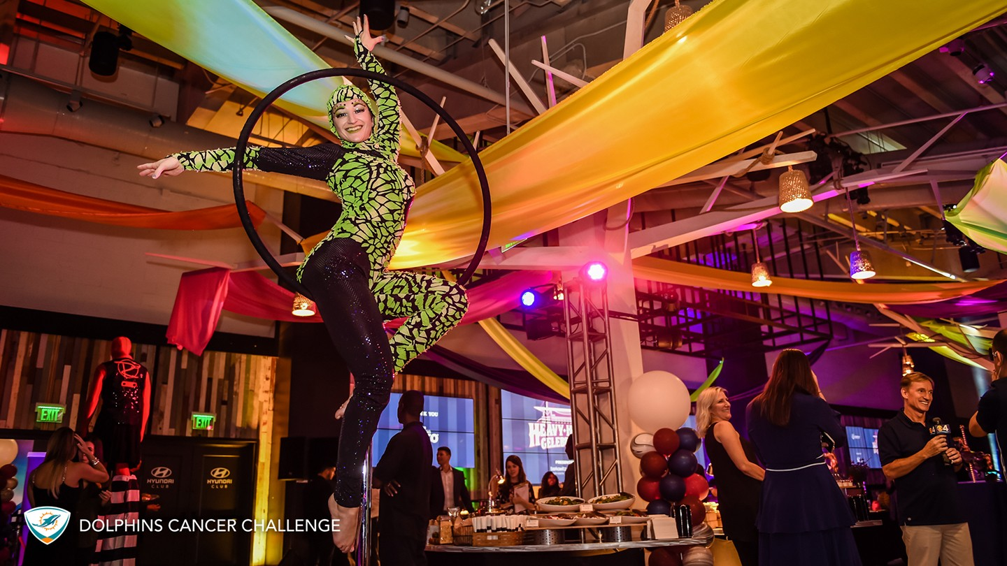 DCC Hosts Heavy Hitters Celebration with circus theme