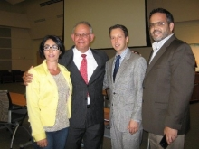 Milton Aponte Former Assistant U.S. Attorney, Sam Roman PR Chamber and Hon. Dave Kerner Florida State Rep.
