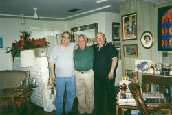 Autor y los generales Tabernilla y del Pino
