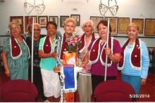 La logia Sara Salzhaver #150 celebro el día de las madres y escogieron como la madre del año a la Hna. Jennie Dierksmeier, ese mismo recordaron el 20 de mayo, el Hno. Pedro Gracia diserto sobre la fecha celebrada.