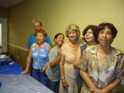 Lesvia Ortiz, Edith Santiago, Elia Lindsay, Myrna Oreng, Ada Briñas y Ramon Acevedo.