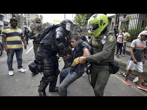AI: Colombia reprime a quienes exigen vivir en un país más justo